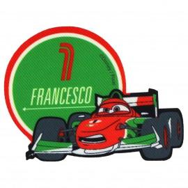Thermocollant Toile Cars Francesco