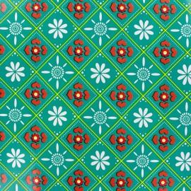 Oilcloth fabric Bricka x 10cm