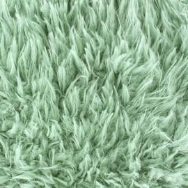 Cocoon fur - Jade green x 10cm