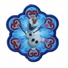 Thermocollant Brodé La Reine des neiges - Olaf