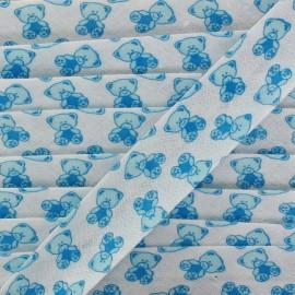 Bias tape Teddy Bear - blue