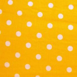Pois blanc sur fond jaune