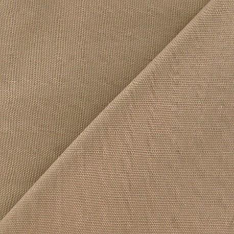 Cotton Canvas Fabric - CANAVAS Beige x 10cm