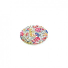 Bouton polyester Spring flowers