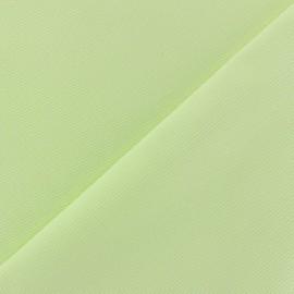 Tissu piqué de coton baby anis x 10cm