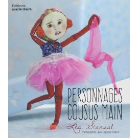 "Book ""Personnages cousus main"""