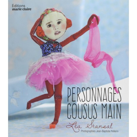 """Book """"Personnages cousus main"""""""