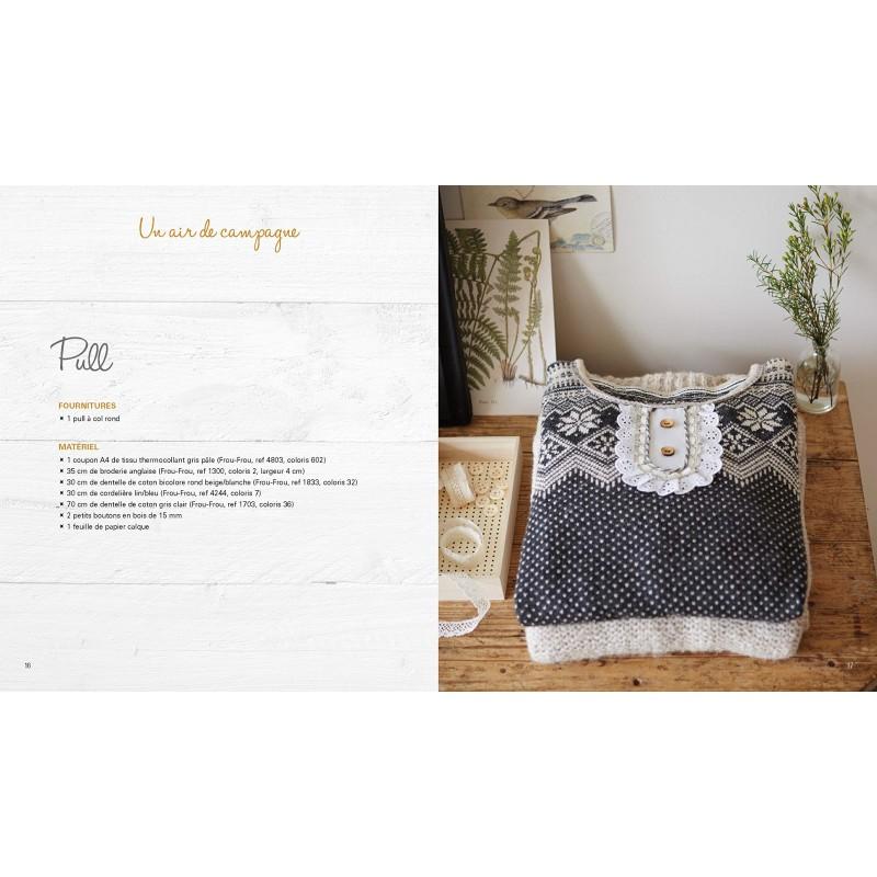 Livre customisation couture v tements accessoires for Accessoire couture