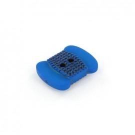 Polyester button Bobbin - blue