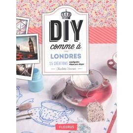 """Livre """"DIY comme à ... Londres"""""""