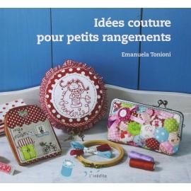 """Livre """"Idées couture pour petits rangements"""""""