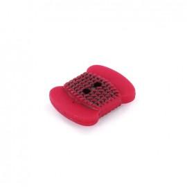 Polyester button Bobbin - fuchsia