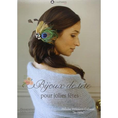 """Book """"Bijoux de tête pour jolies fêtes"""""""