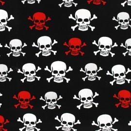 Tissu popeline Hamlet rouge et blanc x 10cm