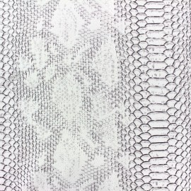 Simili cuir Comodo blanc x 10cm