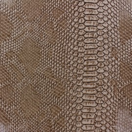 Faux soft leather Comodo - rattlesnake x 10cm
