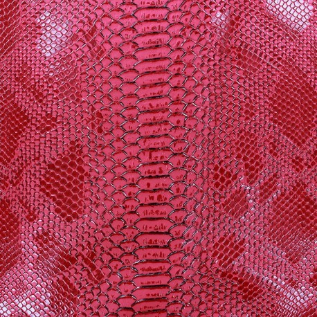 Faux soft leather Comodo - fuchsia x 10cm