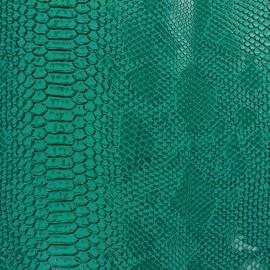 Simili cuir Comodo turquoise x 10cm