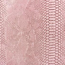 Simili cuir Comodo rose x 10cm
