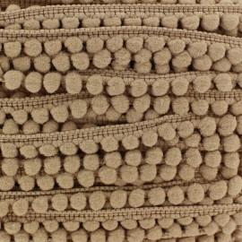 Galon mini pompon boule sable
