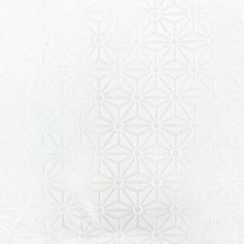 Tissu Kyoto Craie grande largeur (320 cm) x 10cm