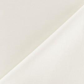 Tissu coton uni Reverie grande largeur (280 cm) - ivoire x 10cm