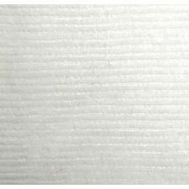 Milleraies velvet fabric - ecru 300gr/ml x10cm
