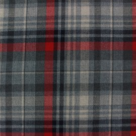 Scottish tartan fabric Deskford x 10cm
