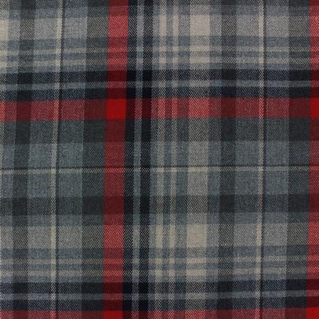 Scottish tartan fabric Deskford x 10cm
