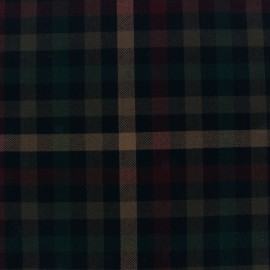 Scottish tartan fabric Walker x 10cm