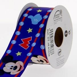 Ruban satin Disney Mickey 38 mm