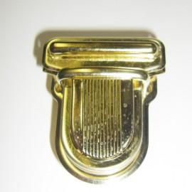 Attache cartable doré 25 mm