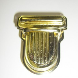 Clip attachment for schoolbag - golden