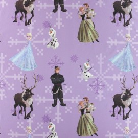 Tissu coton Disney Anna vert x 63cm