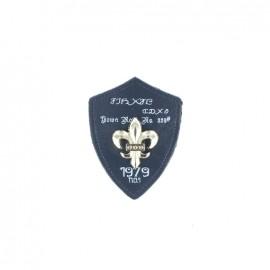 Heraldry brooch Lily 1979 - Navy bue