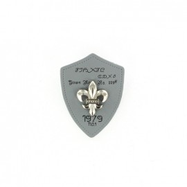 Heraldry brooch Lily 1979 - Grey