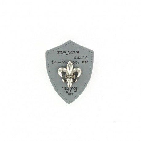 Heraldry brooch Lily 1979 - Grey