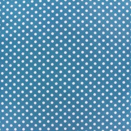 Jersey Fabric Dotty - Blue x 10cm