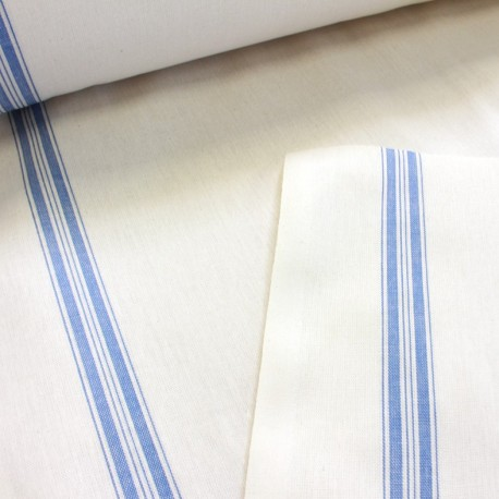 Tea towels fabric - blue x 10cm