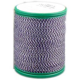 Bobine laser coton 200 m special jean bleu