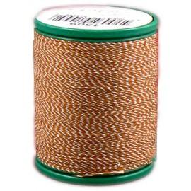 Bobine laser coton 200 m special jean orange