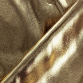 Lurex Lining fabric - bronze x 50 cm