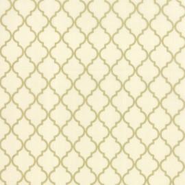Tissu Quattro snow metallic x 10cm