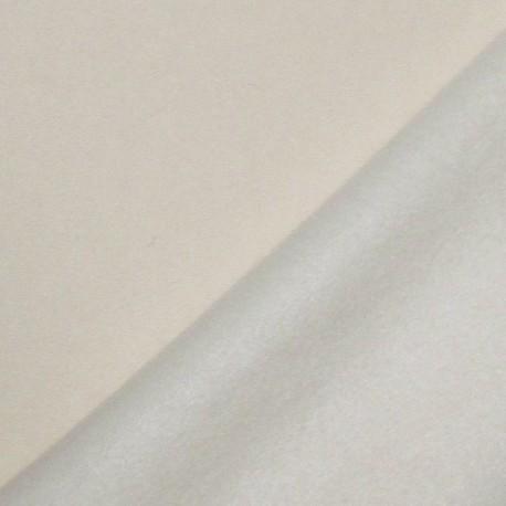 Sweat Fabric - Ecru x 10cm