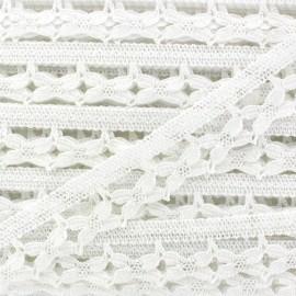 Lace ribbon Romantic Louise - white