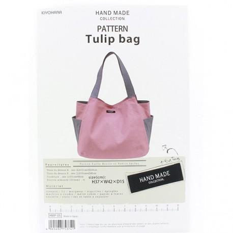 patron sac hand made collection tulip bag ma petite mercerie. Black Bedroom Furniture Sets. Home Design Ideas