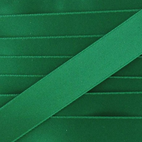 Satin ribbon - imperial green