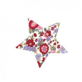 Iron-on patch Etoile fleurie C20