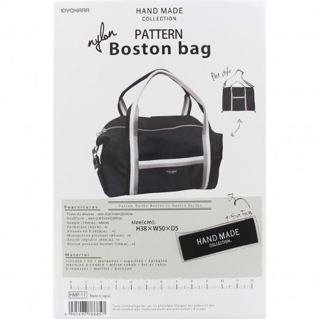 "Patron Sac Hand Made collection ""Nylon Boston bag"""