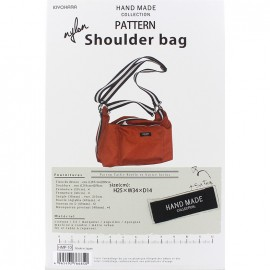 Shoulder Bag 25cm x 34cm x 14cm sewing pattern, HandMade Collection by Kiyohara - orange
